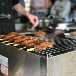 Barbecue Buffetten
