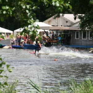Streepkaarten waterskibaan