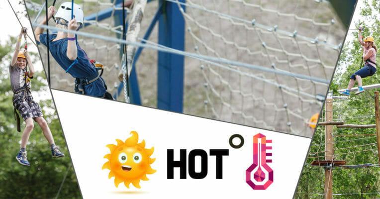 Hoge temperaturen