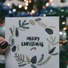 Kerstpakketten uitdelen
